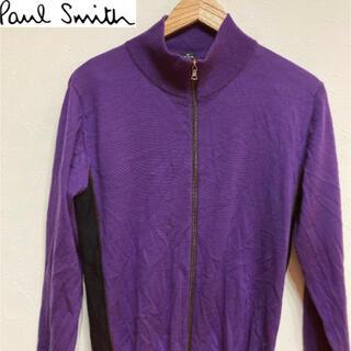 ポールスミス(Paul Smith)の【複数割】Paul Smith ポールスミス ダブルジップセーター 紫 男S女M(ニット/セーター)