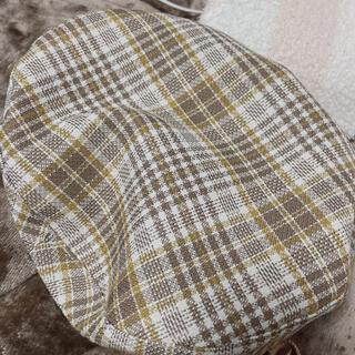 エイミーイストワール(eimy istoire)のeimyチェックベレー帽(ハンチング/ベレー帽)