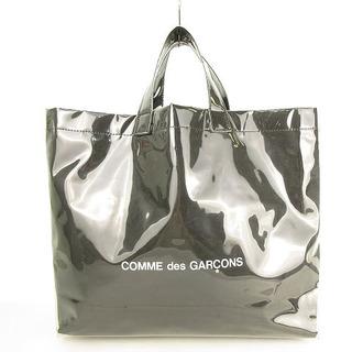 COMME des GARCONS - コムデギャルソン ブラックマーケット トートバッグ PVC ビニール 黒