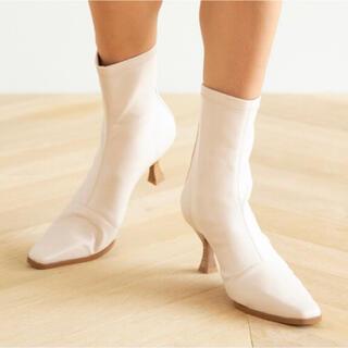 シールームリン(SeaRoomlynn)のStretch eco leatherブーツ(ブーツ)