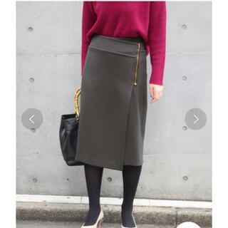 Noble - NOBLE  ダブルクロスラップスカート