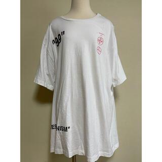 OFF-WHITE - Off-White Tシャツ  オーバーサイズ 白T