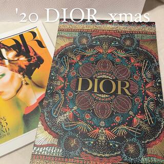 クリスチャンディオール(Christian Dior)の【DIOR 期間限定】DIOR クリスマスホリデー ショッパー(ショップ袋)