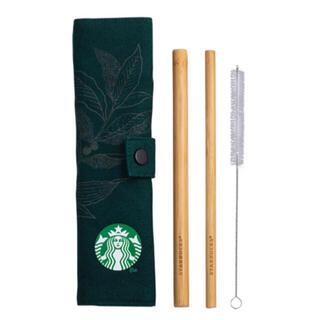 Starbucks Coffee - スターバックス バンブーストローセット 海外限定
