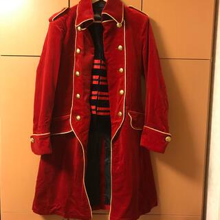 バンダイ(BANDAI)の海賊戦隊ゴーカイジャー ゴーカイレッド キャプテンマーベラス コートセット(衣装)
