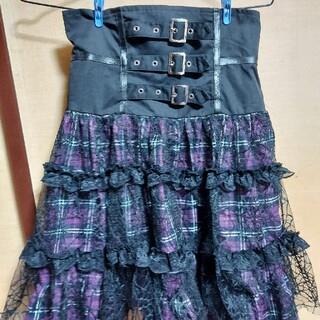 ボディライン(BODYLINE)のボディーラインハイウエストスカート(ひざ丈スカート)