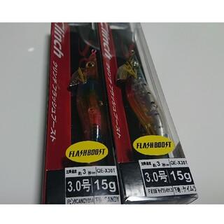 SHIMANO - シマノ エギ フラッシュブースト3.0号 オヨガイワシ ピンクCANDY