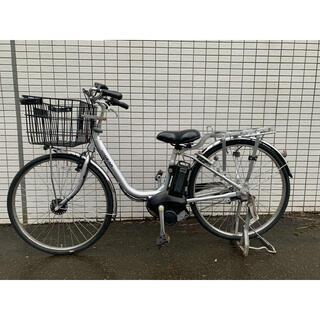 ヤマハ - YAMAHA PAS GEAR-U シルバー 新基準 電動アシスト自転車