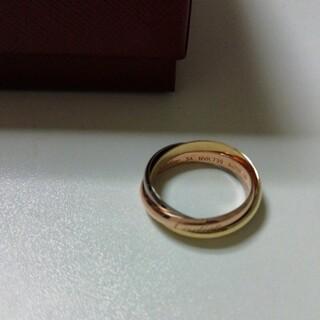 Cartier - カルティエ トリニティリングSM 14号 新品未使用品 ゴールド