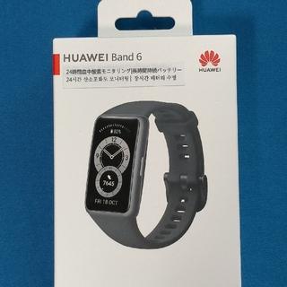 HUAWEI - HUAWEI スマートウォッチ Band 6  グラファイトブラック 新品未開封