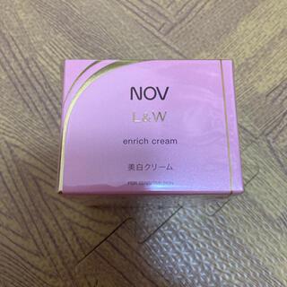 ノブ(NOV)のノブ L&W エンリッチクリーム 美白クリーム(フェイスクリーム)