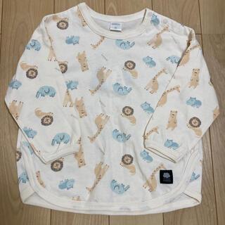 フタフタ(futafuta)のアニマル柄ロンT(Tシャツ/カットソー)