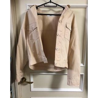 グレイル(GRL)のGRL Gジャン グレイル オープンカラーシャツ ジャケット(Gジャン/デニムジャケット)