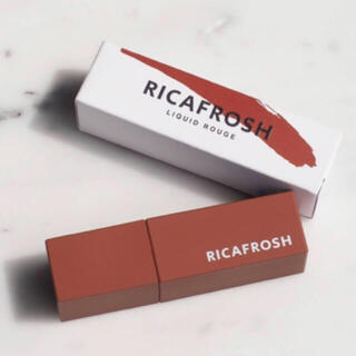 3ce - リカフロッシュ RICAFROSH ジューシーリブティント 06 ルーブラウン