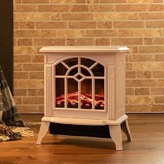 お値下げ中!!✨おしゃレトロ✨ アンティークデザイン 暖炉型ヒーター