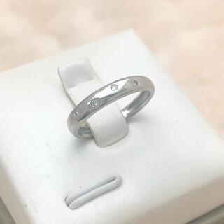 Pt900 プラチナ ダイヤモンド リング☺︎
