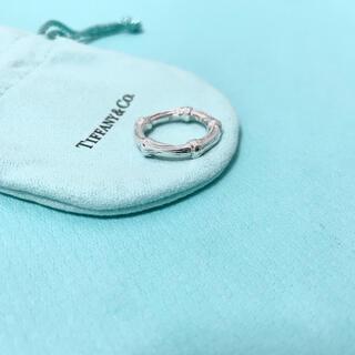 ティファニー(Tiffany & Co.)の【希少】Tiffany & Co. バンブー リング 指輪 10号 シルバー(リング(指輪))