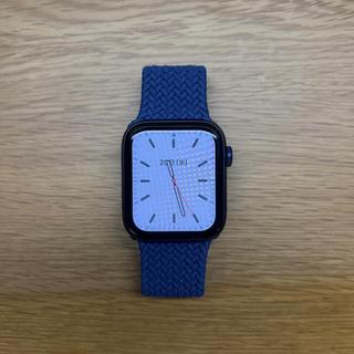 Apple Watch - 【早い者勝ち!】AppleWatchSeries6 GPS ブルー (本体のみ)
