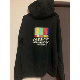 エクストララージ(XLARGE)のXLARGE パーカー 黒(パーカー)