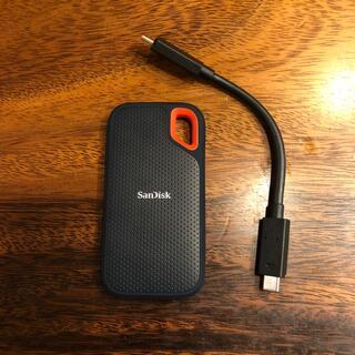 サンディスク(SanDisk)のSanDisk  ポータブルSSD 1TB(PC周辺機器)