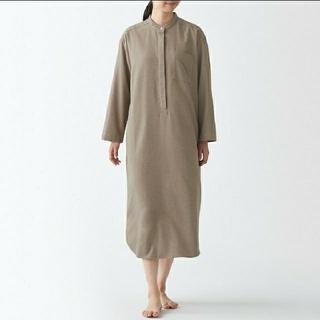 MUJI (無印良品) - インド綿 フランネルクルタ