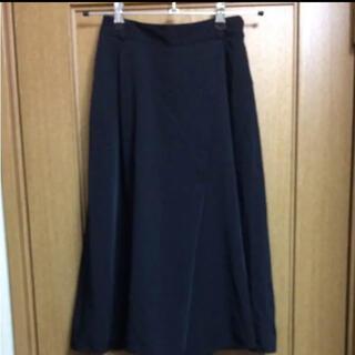 GU - GUのスカーチョ ガウチョパンツ ブラック 黒