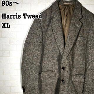 ハリスツイード(Harris Tweed)のレトロ ヴィンテージ感 古着 90s ブリティッシュ 英国紳士 ハリスツイード(テーラードジャケット)