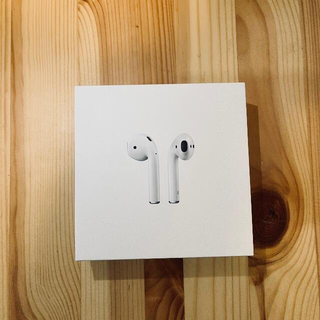 Apple - AirPods 第二世代+AirpodsCase with Woolenex
