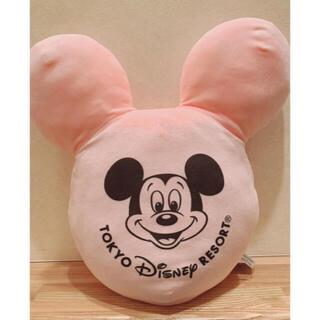 Disney - ディズニー ミッキー バルーン クッション ピンク