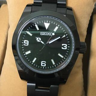 セイコー(SEIKO)の超美品! セイコー メンズ 機械式 カスタム MAD paris 39ミリ(腕時計(アナログ))