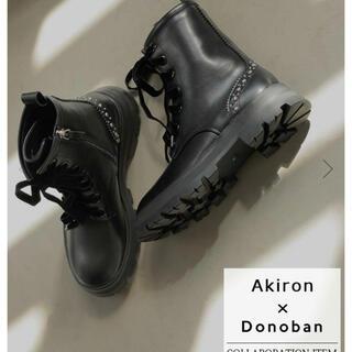 新品未使用 Akiron Donoban コラボブーツ