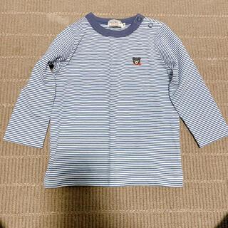mikihouse - ミキハウス ベビー服 美品 長袖Tシャツ 70cm 80cm