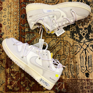 """NIKE - off-white NIKE ダンクlow 1 of 50 """"49"""""""