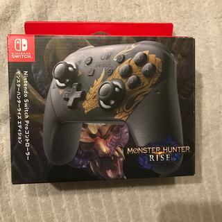 Nintendo Switch Proコントローラー モンスターハンターライズ(その他)