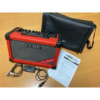 ローランド(Roland)のローランド CUBE Street RED 純正バッグ、ACアダ、取説付 送料込(ギターアンプ)
