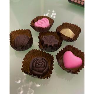 消しゴム (チョコレート型)6個セット【新品未使用】(消しゴム/修正テープ)