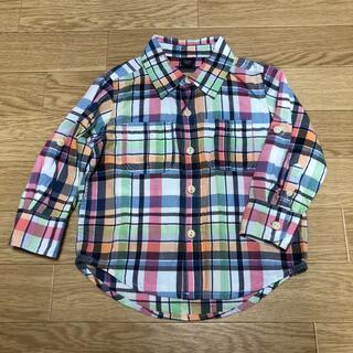 ベビーギャップ(babyGAP)のbaby Gap ☆ポケット付きシャツ 90cm(ブラウス)