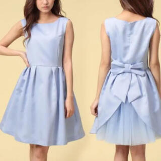 UNIVERVAL MUSE - ペールブルー ドレス チュール