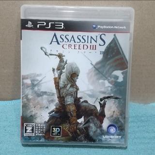 プレイステーション3(PlayStation3)のアサシン クリードIII PS3(家庭用ゲームソフト)
