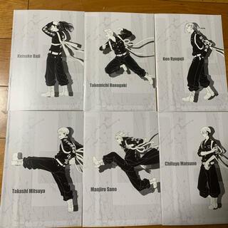 東京リベンジャーズ オリジナルA5ノート 全6種コンプリート