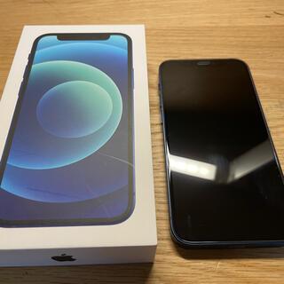 iPhone - iphone12mini 64gb ブルー 美品 simロック解除済み