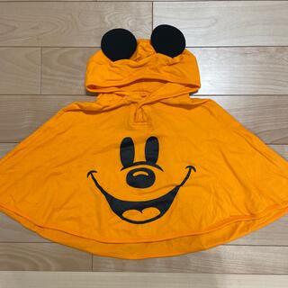 ディズニー(Disney)のハロウィン ミッキーポンチョ(カーディガン/ボレロ)
