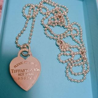 Tiffany & Co. - TIFFANY ハートタグ ネックレス
