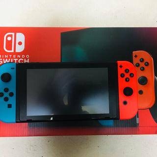 Nintendo Switch - 任天堂 美品 Nintendo switch ネオンブルー