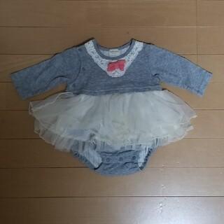 キッズズー(kid's zoo)のキッズズー ドレス ロンパース 70㎝(ロンパース)