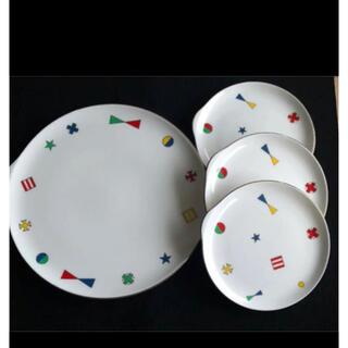 タチキチ(たち吉)の昭和レトロ 食器 Adam&Eve タチ吉 ケーキ皿(食器)