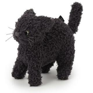 ジェラートピケ(gelato pique)のジェラートピケ Halloween限定 クロネコ ヌイグルミ 黒猫ぬいぐるみ(ぬいぐるみ)