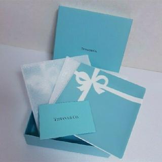Tiffany & Co. - ティファニー ブルーボウデザートプレート 1箱 (2個入り) ショップ袋 リボン