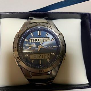 CASIO - CASIO. ソーラー電波式腕時計