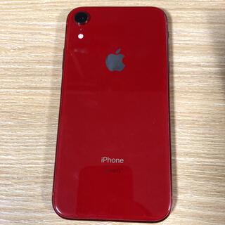 iPhone - iPhoneXR (RED/128GB) SIMフリー